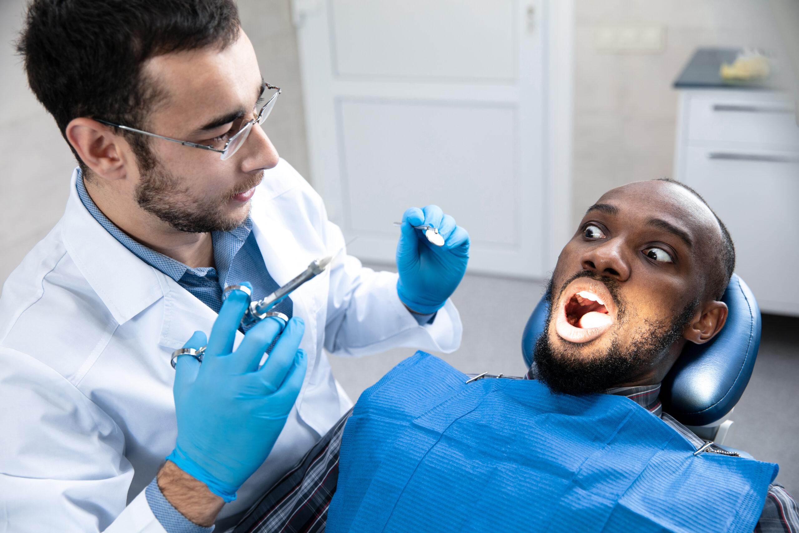 Strach ze zubního lékaře?